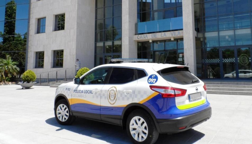 Cambrils obre una borsa d'interins de la Policia Local per la temporada alta