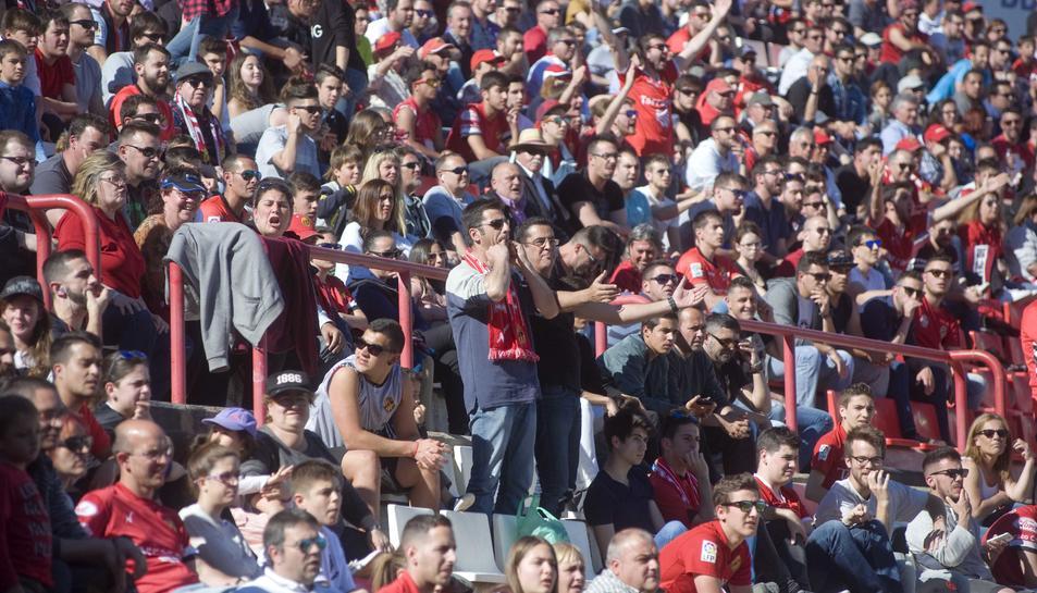 El Nàstic vol un Nou Estadi a rebentar per derrotar el líder Leganés