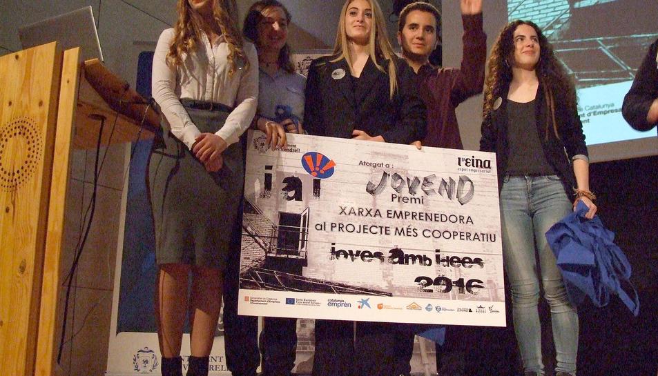 El Vendrell lliura els premis del concurs 'Joves amb idees'