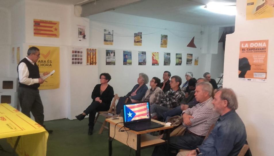 La junta actual de l'ANC Tarragona ha estat reelegida per continuar