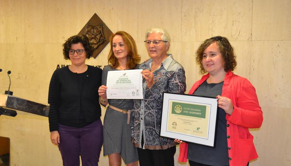 Reus, «Ciutat solidària amb l'Alzheimer»