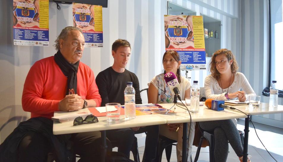 Recollida solidària de productes pels afectats del terratrèmol d'Equador