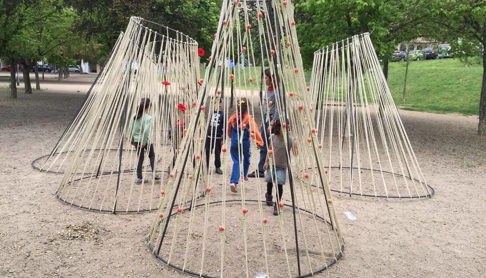 L'Escola d'Art i Disseny de Reus participa al Girona Temps de Flors