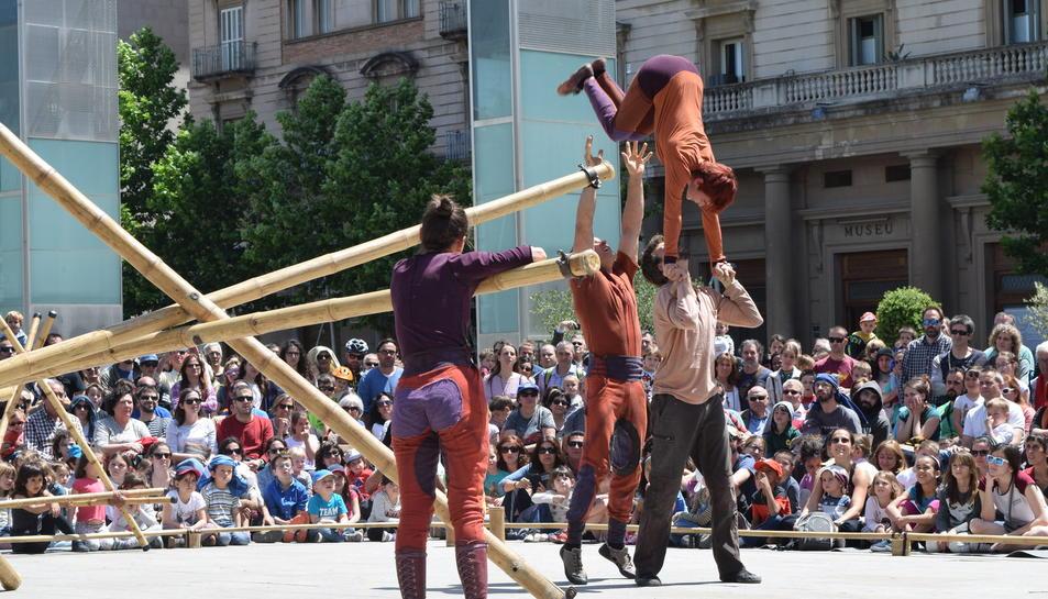 Circo en las plazas de Reus