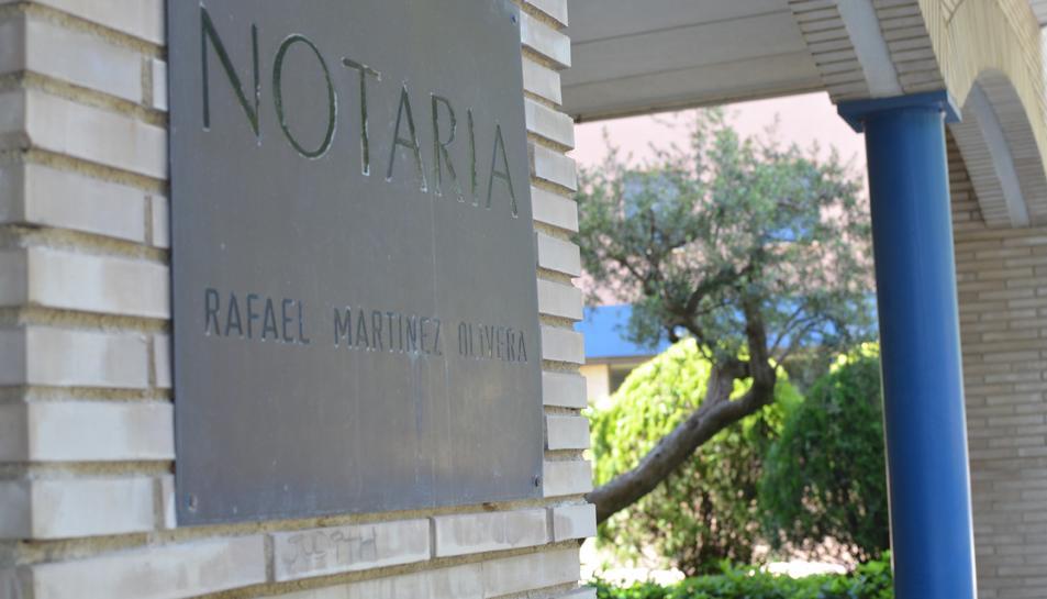 El Col·legi de Notaris demana la suspensió de funcions del notari de Cambrils