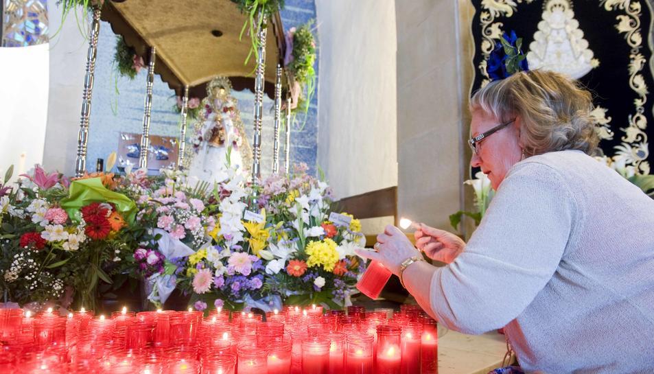 La devoció a la Verge del Rocío omple el parc del Llorito un any més