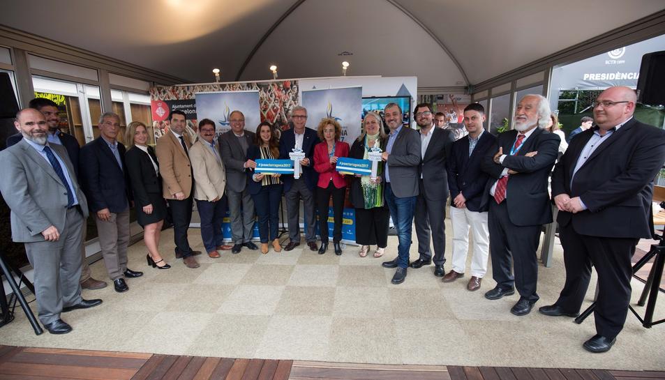 Expolicencias s'ocuparà d'elaborar el 'merchandising' dels Jocs 2017
