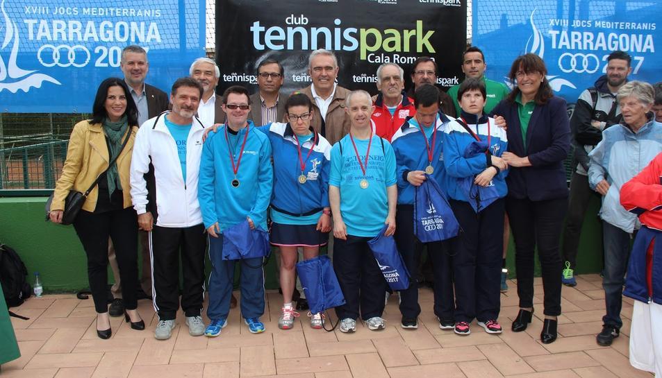 Els Clubs de Barcelona s'imposen al quart Torneig de Tennis Adaptat Ciutat de Tarragona