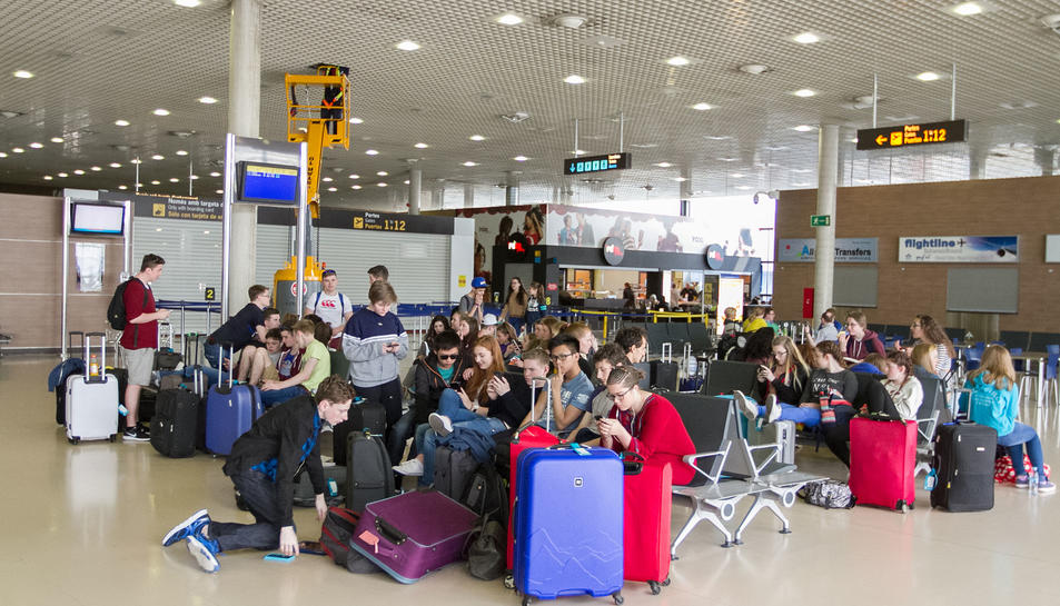 Rull: «El 99% d'activitat a l'Aeroport  la sustenten Generalitat i Diputació»