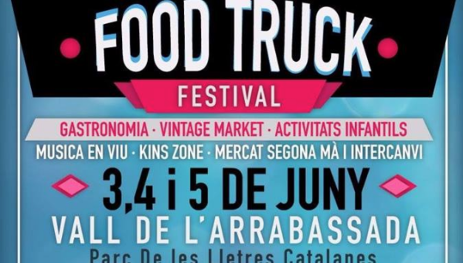 La Vall de l'Arrabassada també s'apunta a la moda dels Food Trucks