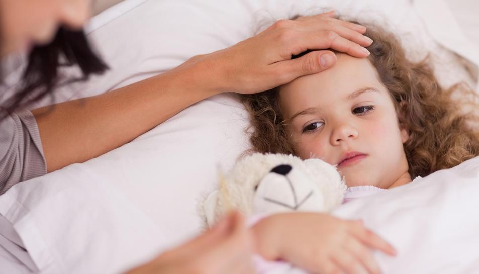 Nens amb febre