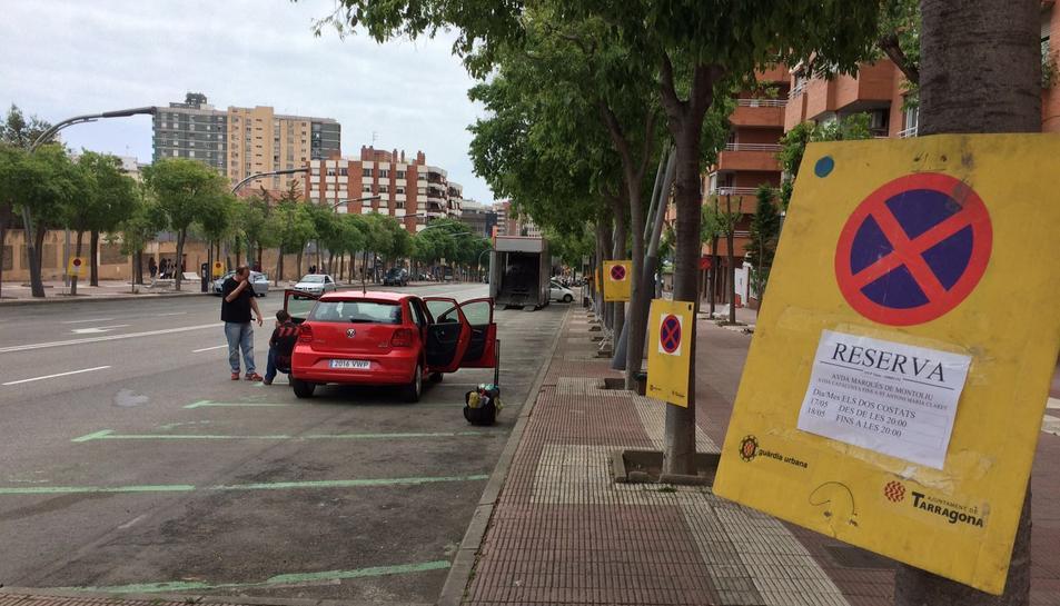 El rodatge de l'espot de cotxe es trasllada a Marquès de Montoliu