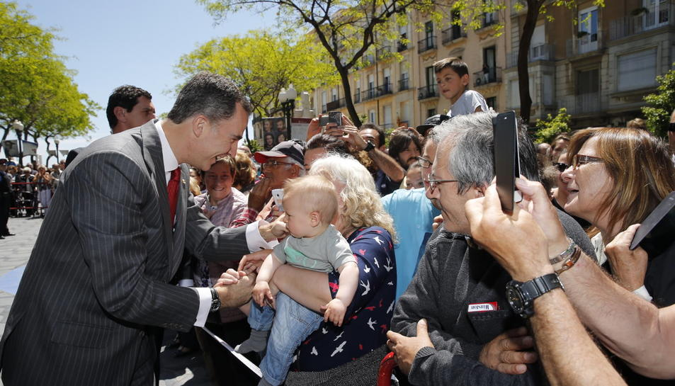 Visita del Rei a Tarragona