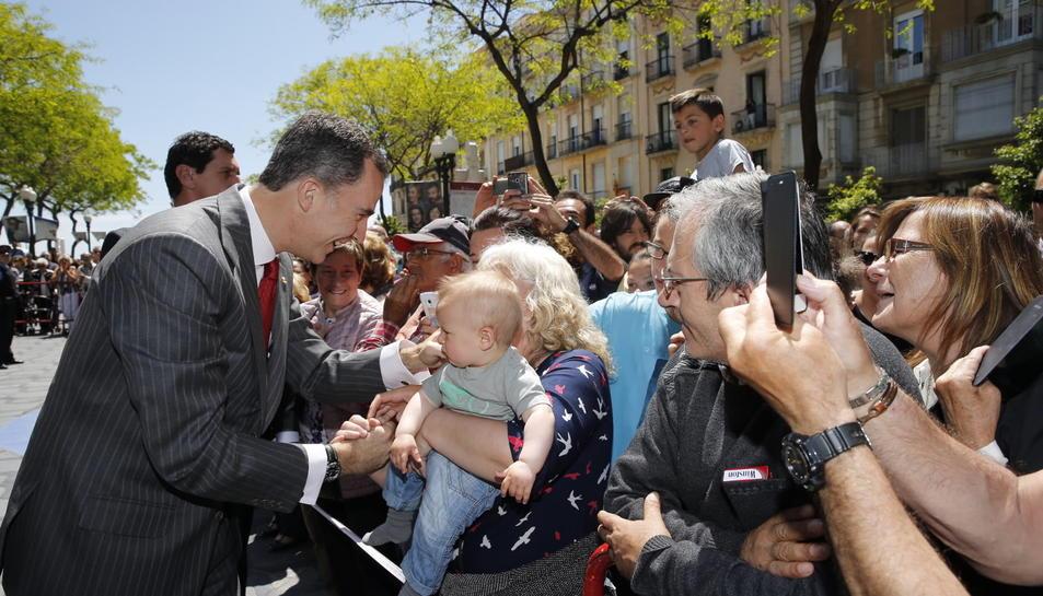 Visita del Rey a Tarragona