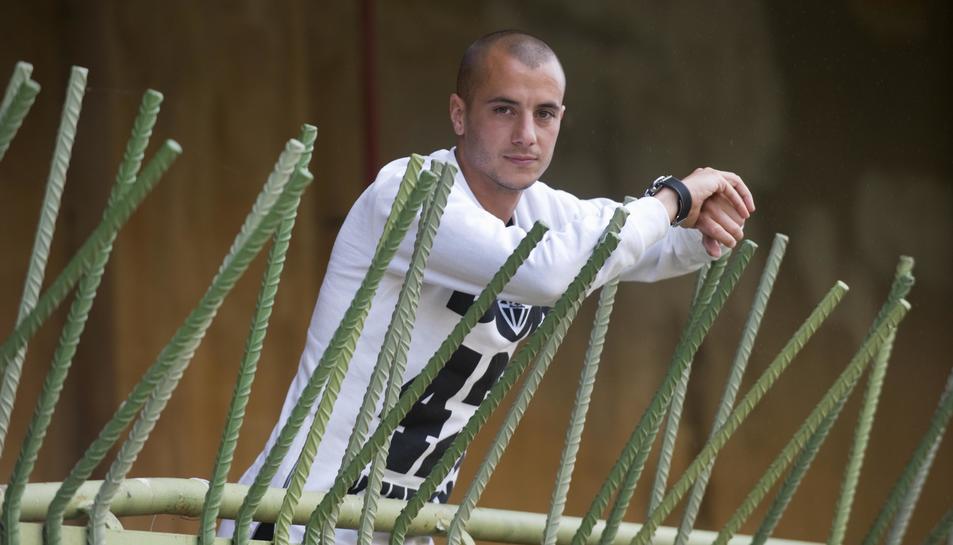 Sergio Tejera és feliç a Tarragona, on vol continuar molt més temps.