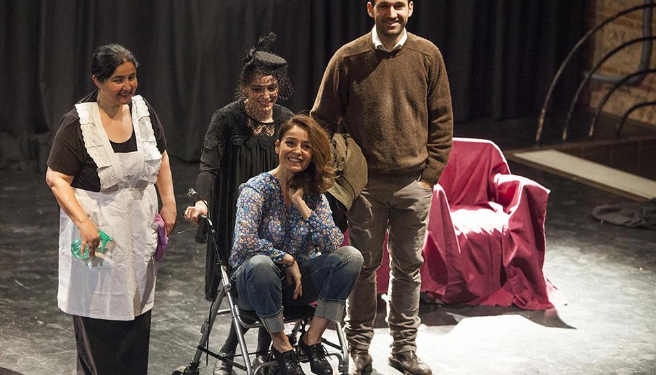 Tarragona acull teatre per públic amb discapacitat