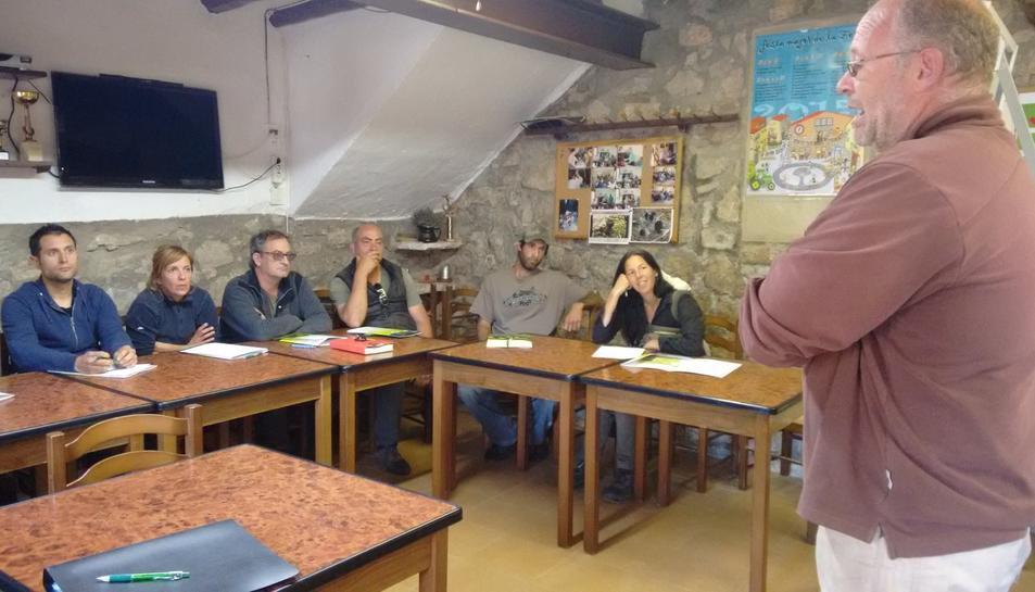 La Febró, camp de pràctiques per a gossos pastor