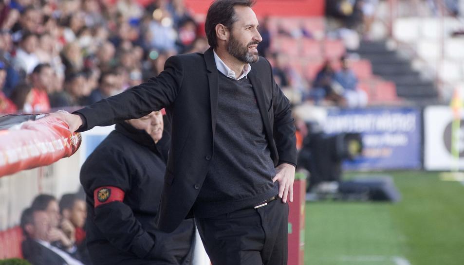Vicente Moreno: ''Si perdem, serà complicat lluitar per les dues primeres places''