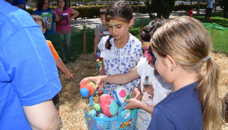 La recerca dels ous de Pasqua és un dels jocs que més ha agradat.