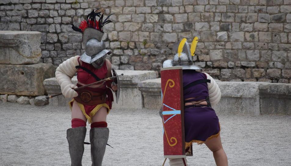 El mundo de los gladiadores en el Anfiteatro romano de Tarragona