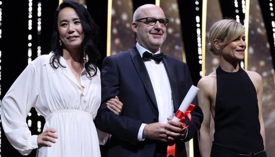'Timecode', el curtmetratge produït per l'Escola de Cinema de Reus, guanya la Palma d'Or a Cannes