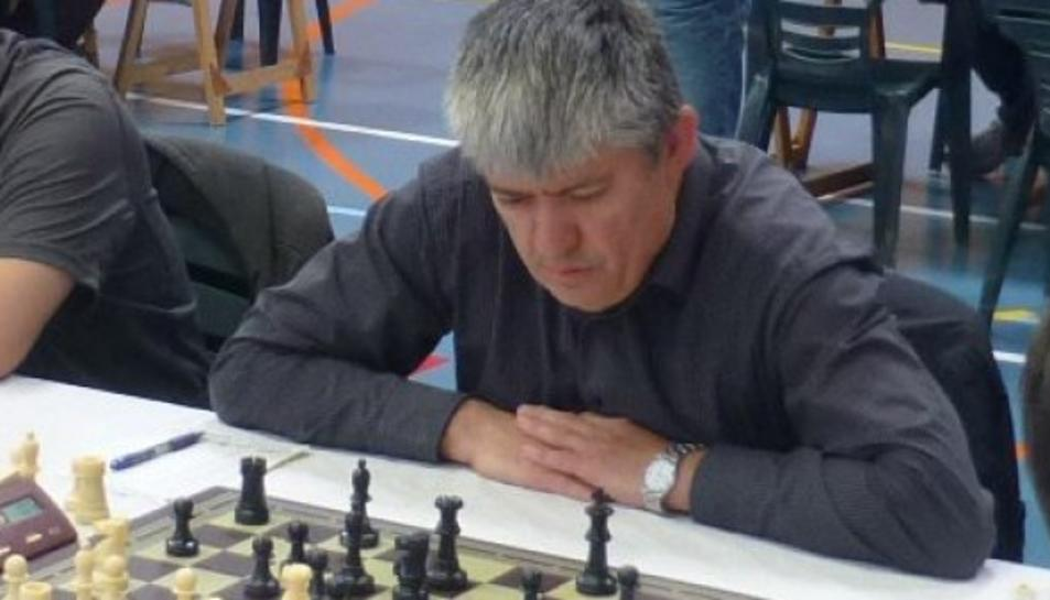 Miguel Ángel Fernández assoleix el títol de Mestre Català d'Escacs