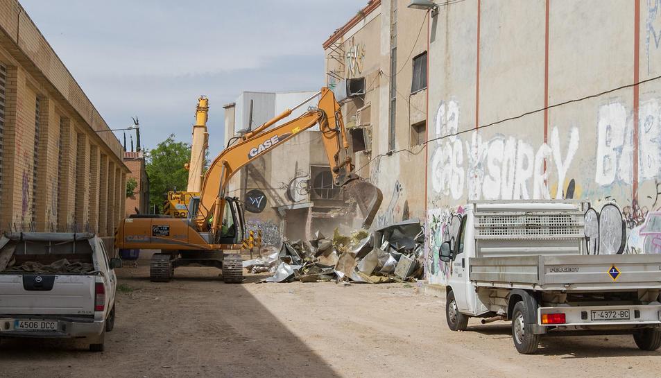 Salvem la Sedera denuncia les obres de la fàbrica a Inspecció de Treball