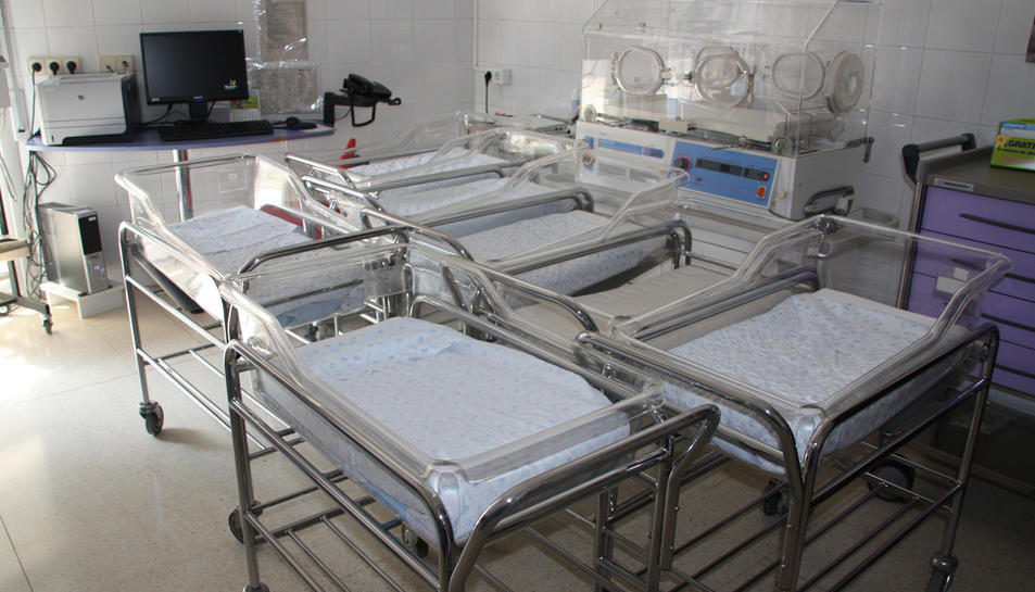 La meitat de nadons s'inscriuen al nou registre de l'hospital Joan XXIII