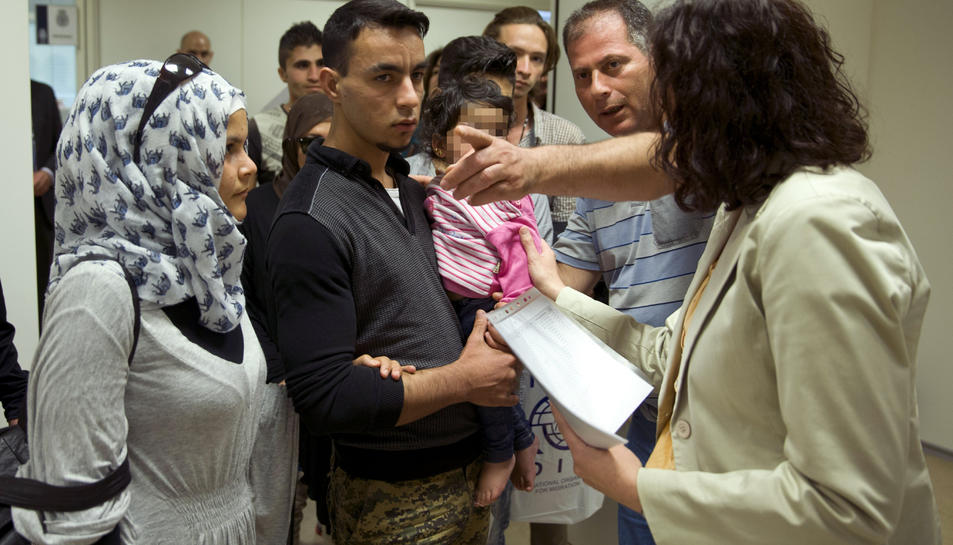 13 refugiats eritreus arriben a Tarragona aquesta nit