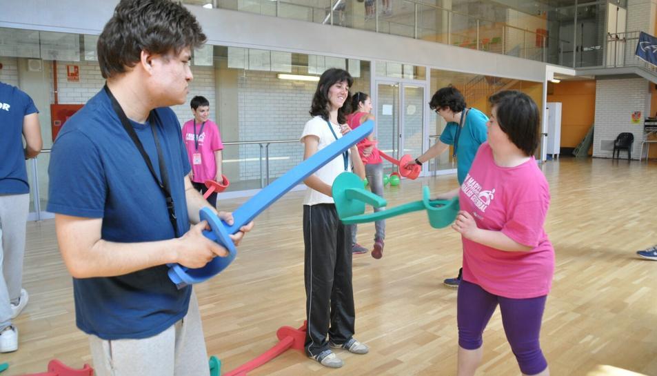 Festa del 20è aniversari de les Jornades Esportives de Centres de Persones amb Discapacitat