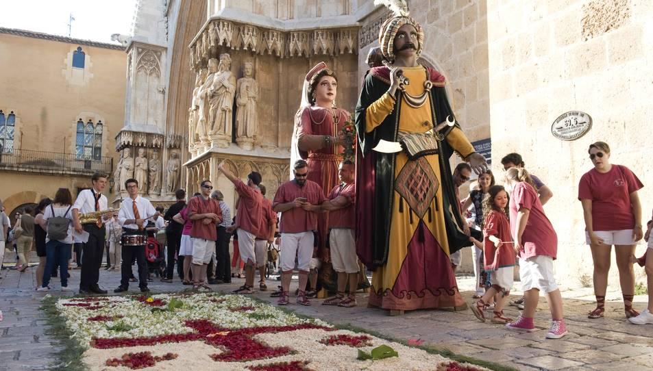 Gegants, gralles i timbals ompliran els carrers de Tarragona per Corpus