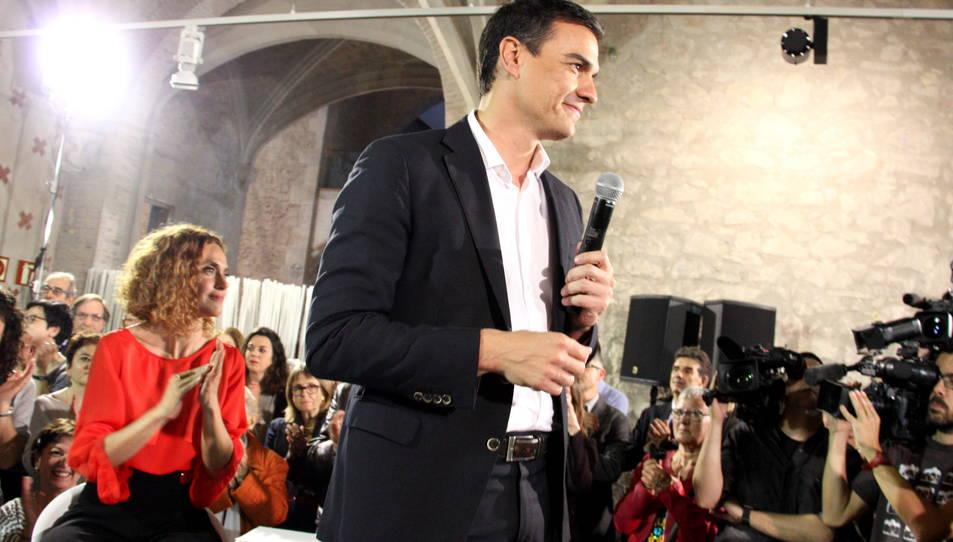 Pedro Sánchez visita Tarragona per presentar la candidatura divendres
