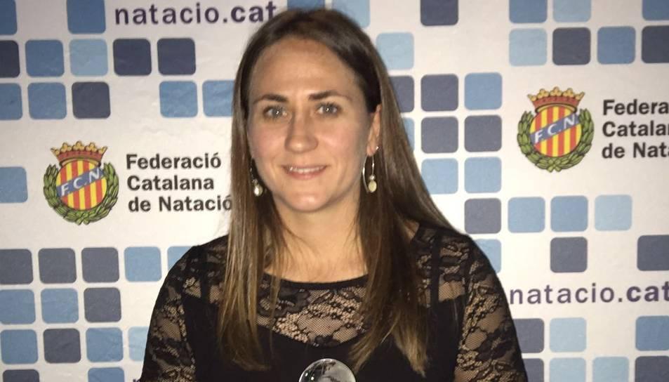 La Federació Catalana de Natació premia el nedador tarragoní César Espresati