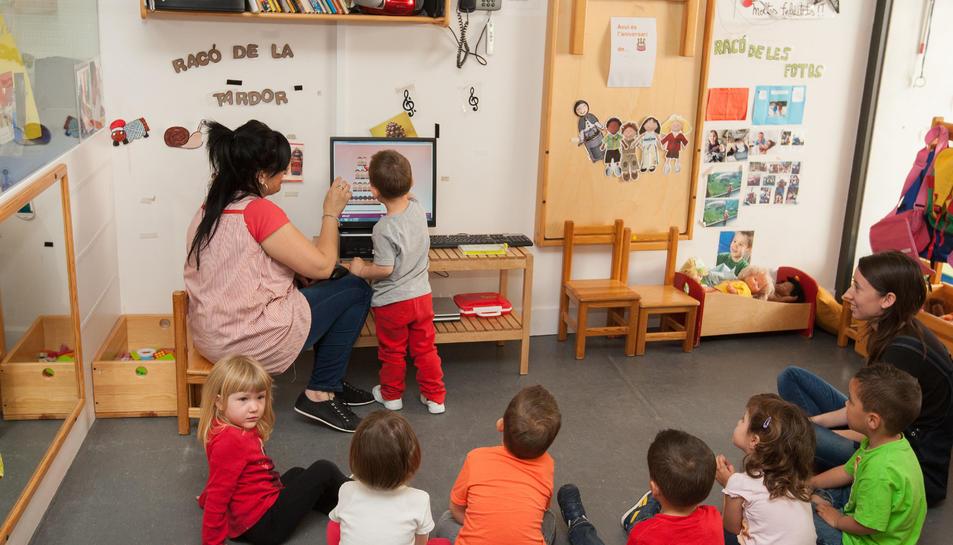 Augmenten un 22% les preinscripcions a les escoles bressol municipals