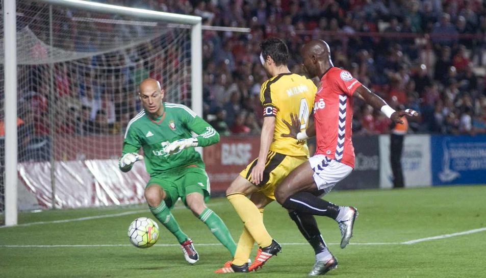 Nàstic - Osasuna: el partit