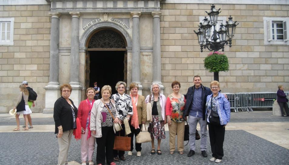 El Col·lectiu de Dones d'Alcover homenatjat per la Generalitat pel seu 25è aniversari