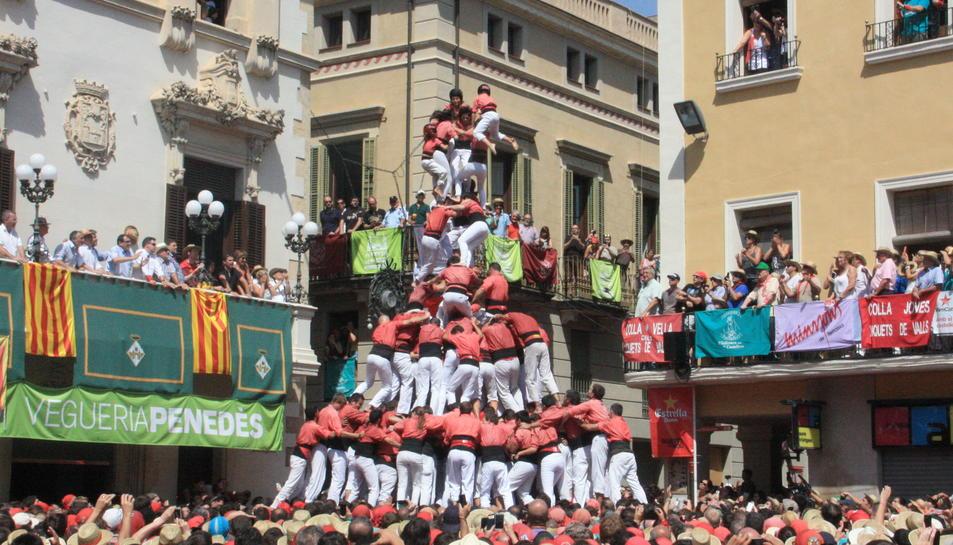 L'administració de la Festa Major de Vilafranca es converteix en ambaixadora de les colles castelleres de Valls