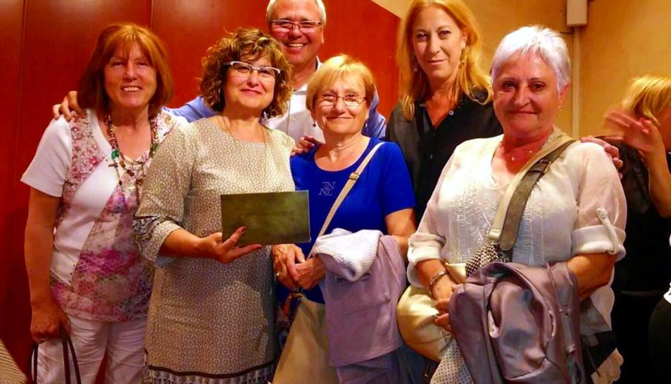 La Generalitat reconeix l'Ateneu Cultural de Dones d'Altafulla pels 25 anys de trajectòria