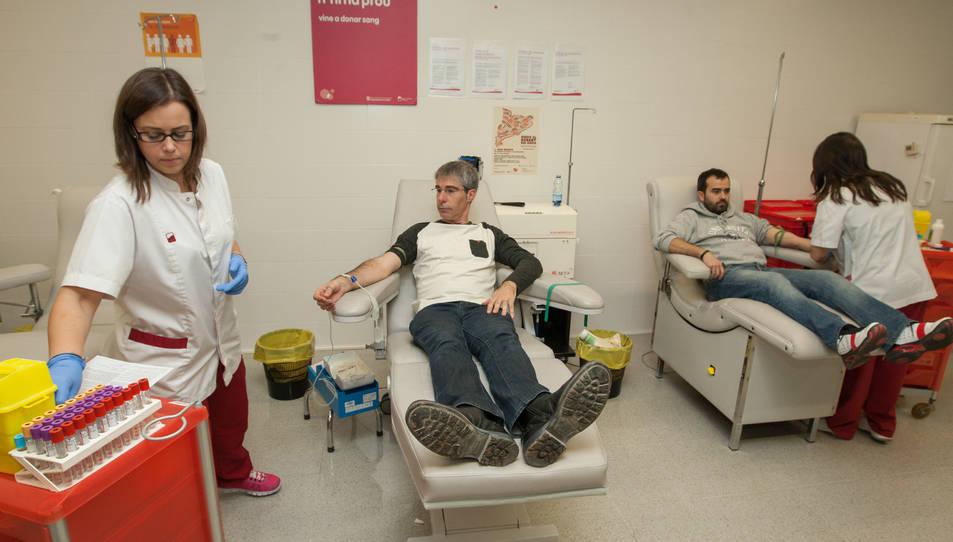 El Banc de Sang busca 6.000 donants a Tarragona
