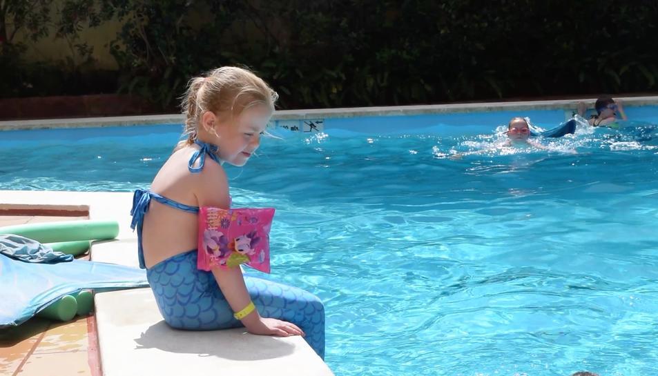 Sirena per un dia, el somni de la Chloe