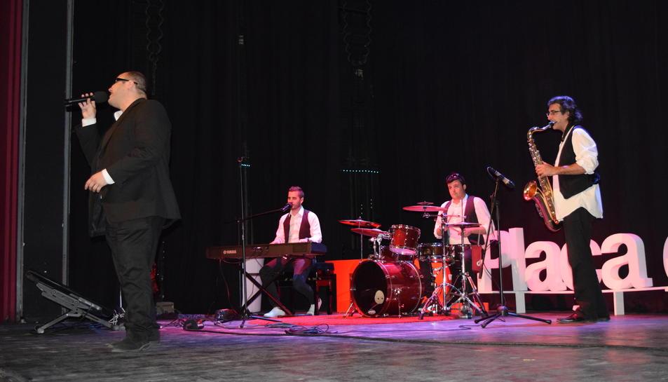 The Soul Man Quartet ha estat l'encarregat de posar el ritme a la tarda.