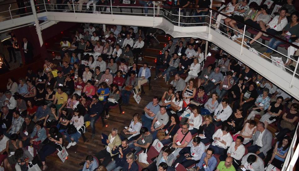 El Teatre Metropol estava ple.