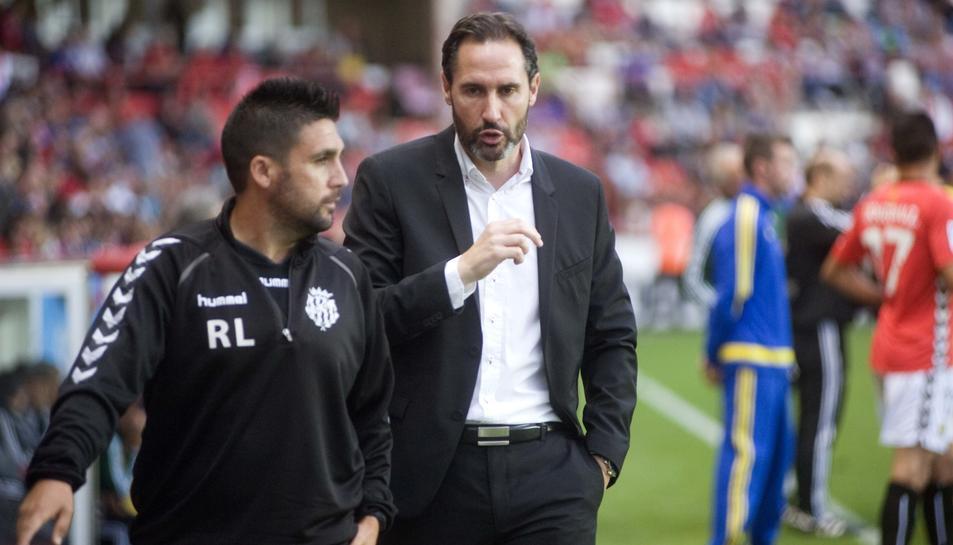 Vicente Moreno: ''Si guanyem els dos partits tenim moltes opcions de pujar''