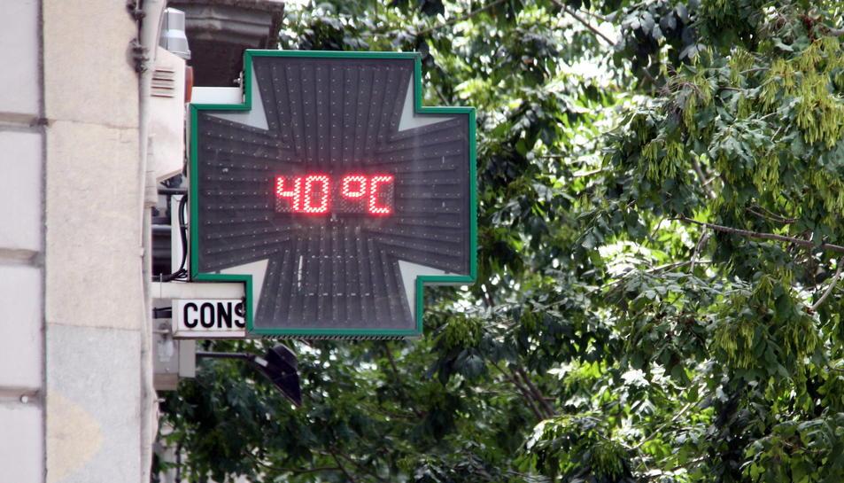 La temperatura mitjana a Catalunya ha pujat 1,55 graus des del 1950