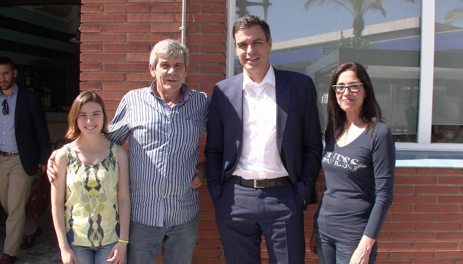 Pedro Sánchez visita Tarragona per la presentació de la candidatura tarragonina del PSC per les noves eleccions generals