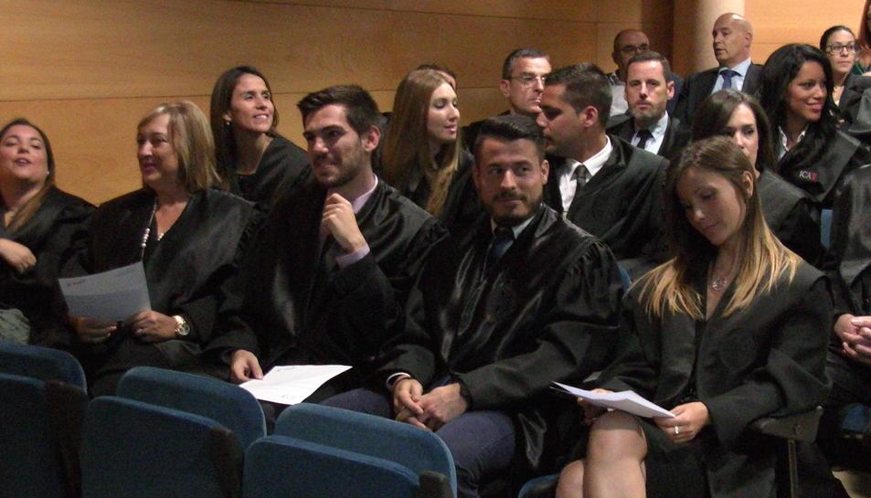 Els nous advocats de Tarragona, protagonistes de la festivitat de Sant Raimon de Penyafort