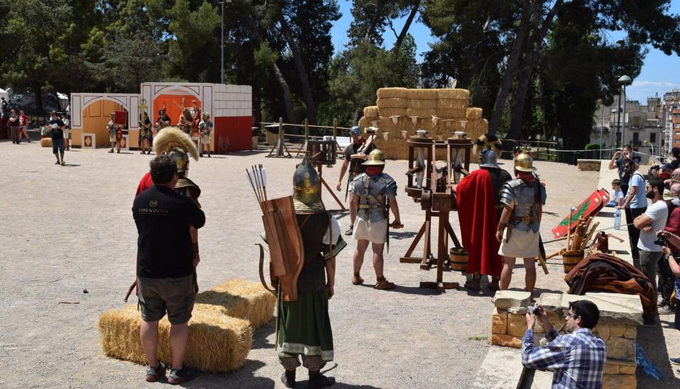 Artillería de las legiones romanas