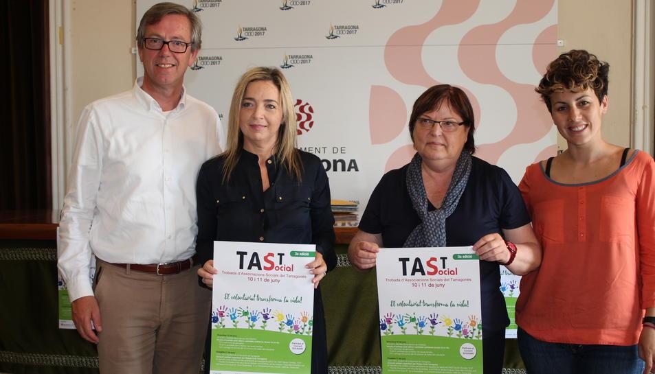 Un concert i el doble d'entitats en la celebració del TAST social