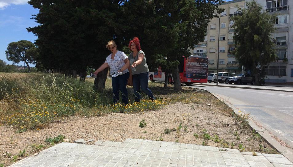 Els veïns de Parc Riu Clar denuncien la deixadesa que pateix el barri