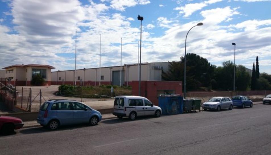 Les instal·lacions de Galo/Ben al polígon industrial de Valls, on s'instal·larà la benzinera.